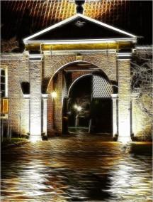 Nachts auf Schloss Evenburg